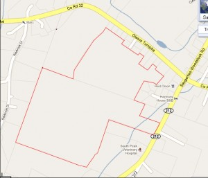 South Peak Subdivision Development Map